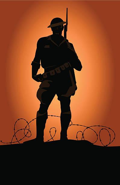 world war soldier - world war ii stock illustrations, clip art, cartoons, & icons