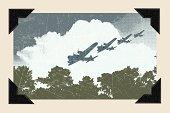World War Two - Air Raid Background