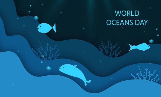 World Water Day stock illustration