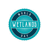 World Wetlands Day Label