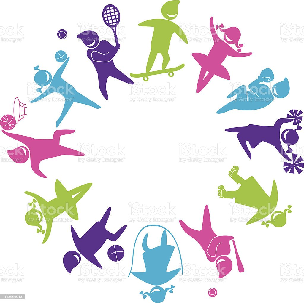 world_of_sports royalty-free stock vector art