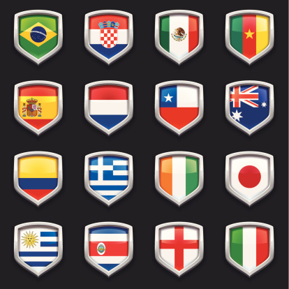 Worldcup 2014 Groups A B C & D