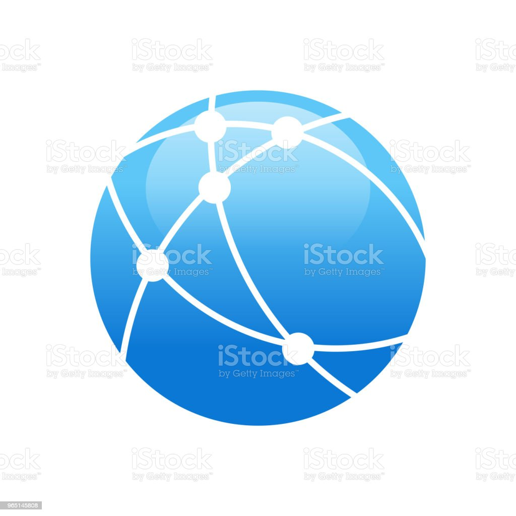 Worldwide Broadband Technology Circular Symbol Design royalty-free worldwide broadband technology circular symbol design stock vector art & more images of abstract