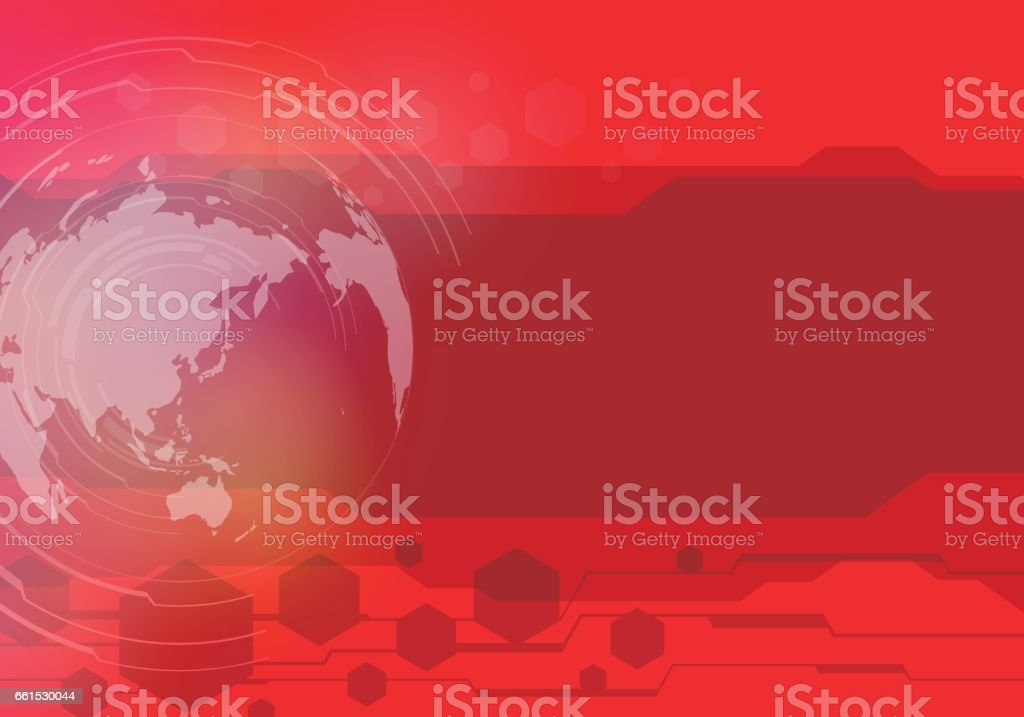 worldwide business presentation sheet template, abstract image, vector illustration vector art illustration