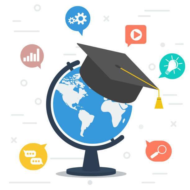 global education stock illustrations