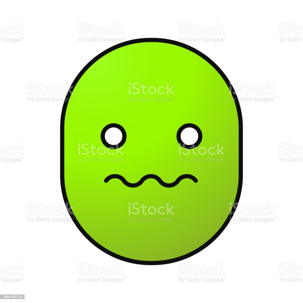 Worried smiley icon royalty-free worried smiley icon stock vector art & more images of color image