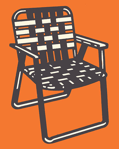Woven Lawn Chair http://csaimages.com/images/istockprofile/csa_vector_dsp.jpg outdoor chair stock illustrations