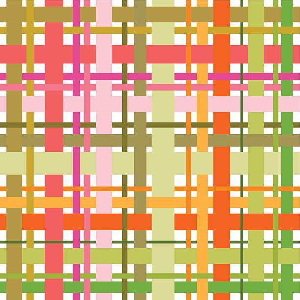 Woven pattern vector art illustration