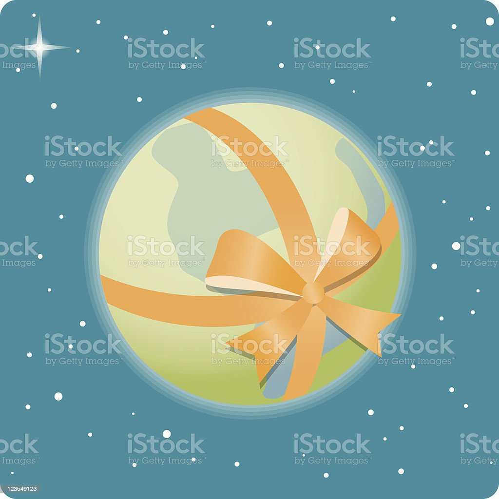 Wrap the World... royalty-free wrap the world stock vector art & more images of color image