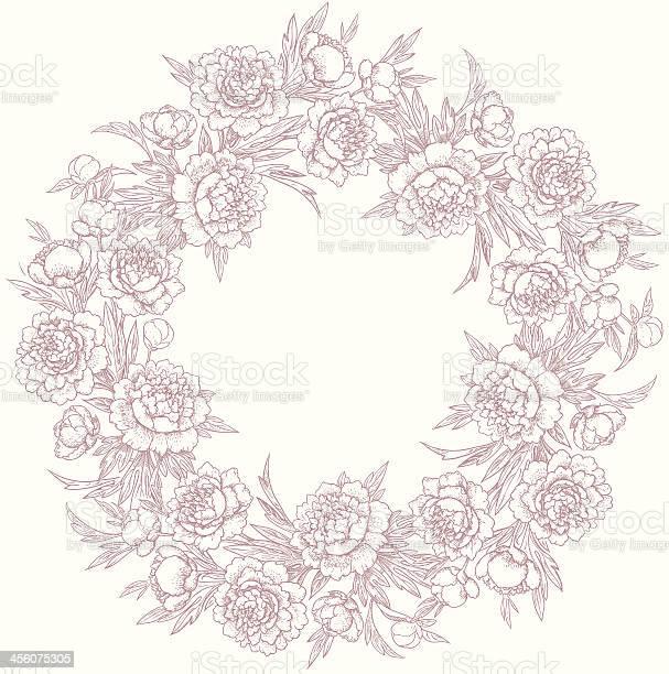 Wreath of peonies vector id456075305?b=1&k=6&m=456075305&s=612x612&h=ijal7d4j04mmrwfdhjd2wll0vvdcglcyr eijjgshxm=