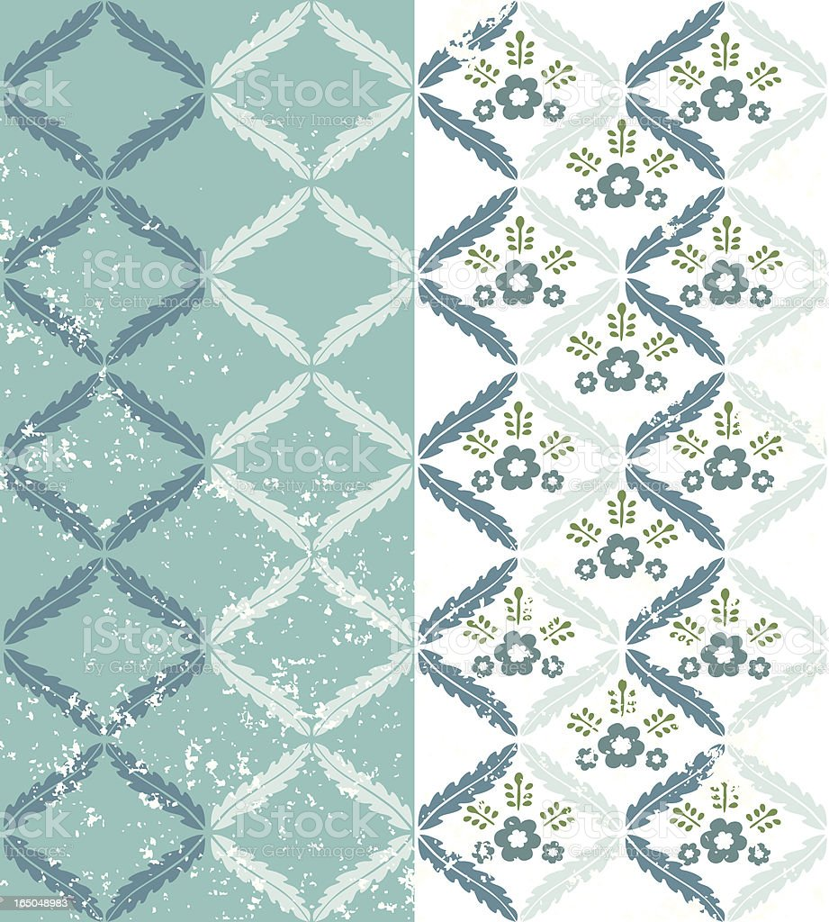 Wreath Pattern royalty-free wreath pattern stock vector art & more images of backgrounds