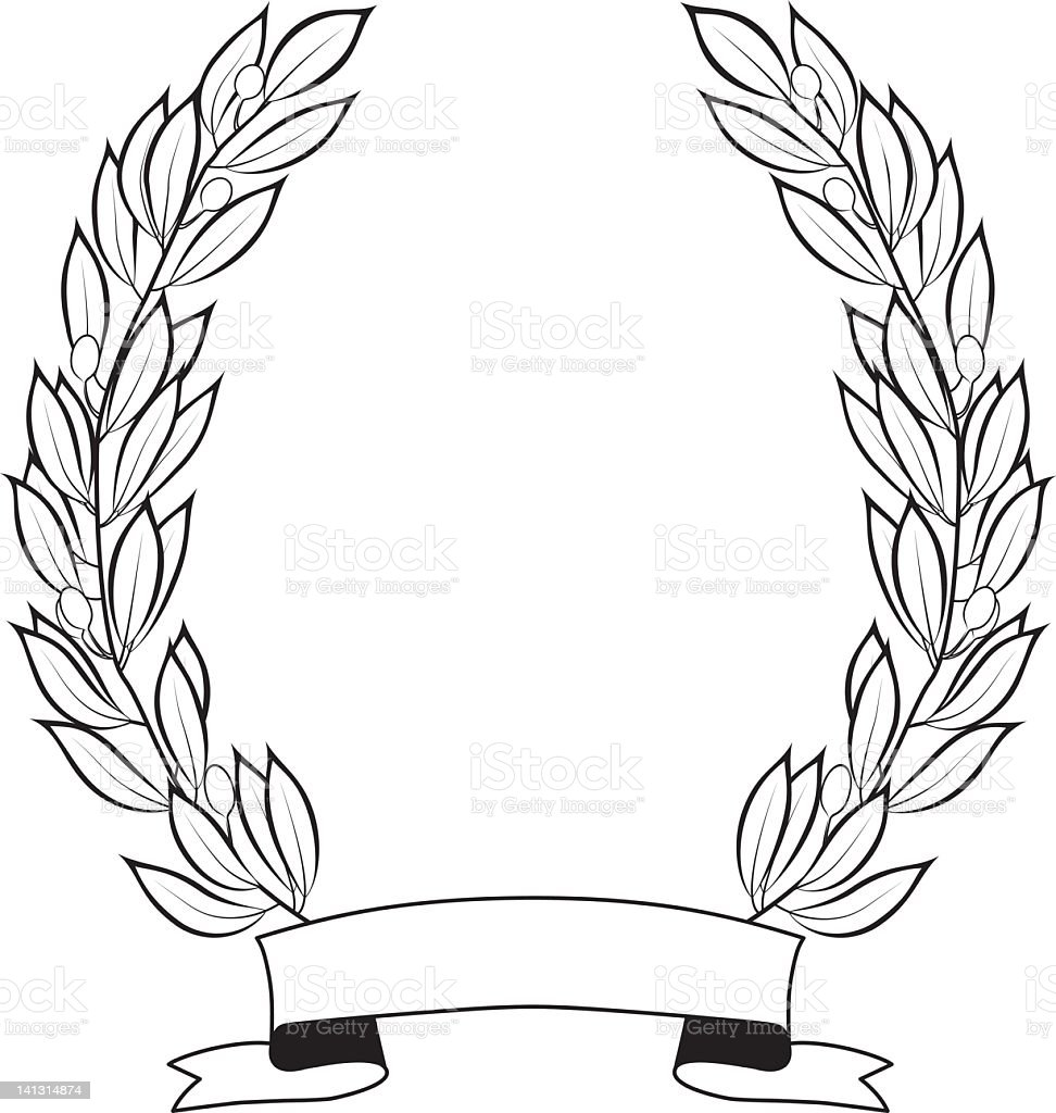 wreath royalty-free wreath stock vector art & more images of backgrounds