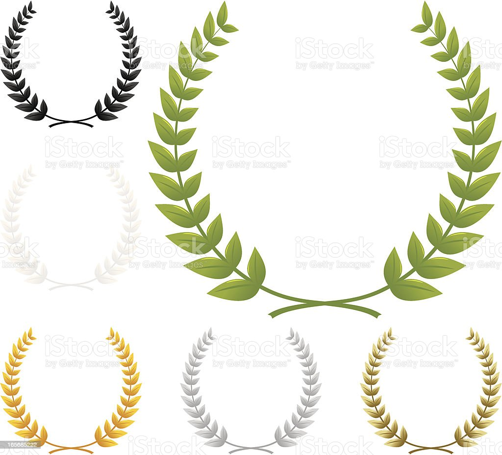 Wreath vector art illustration