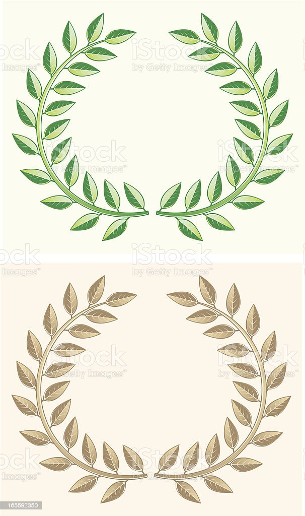 Wreaths royalty-free wreaths stock vector art & more images of arts culture and entertainment