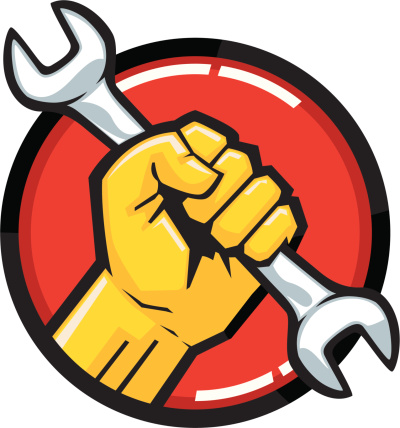 wrench fist