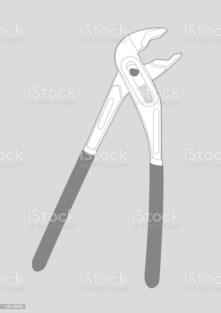 Wrench - illustration royalty-free wrench illustration stock vector art & more images of adjustable