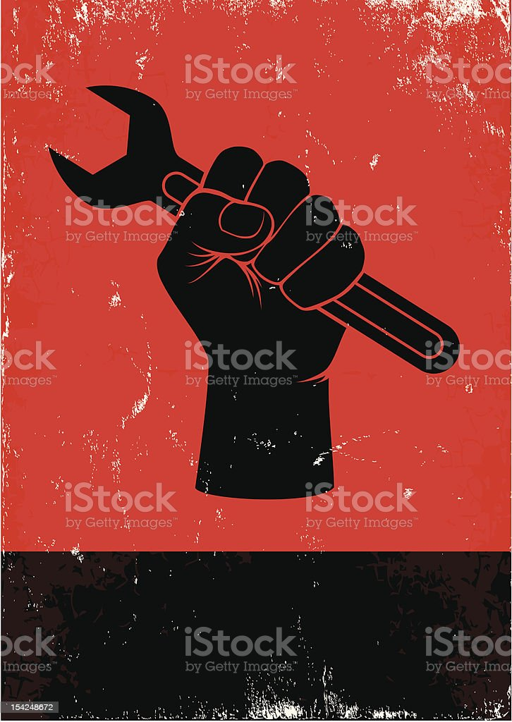 wrench royalty-free stock vector art