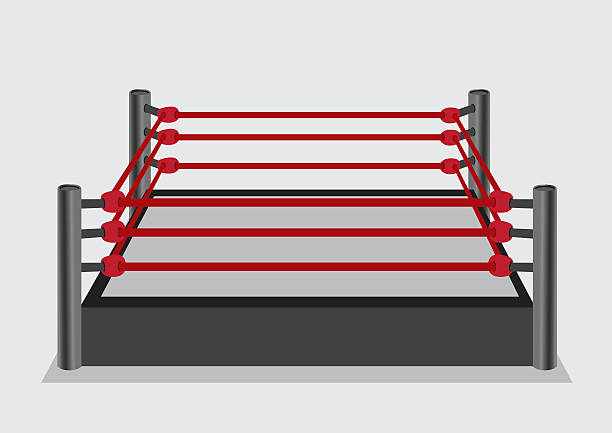 Wresting Ring Vektor-Illustration – Vektorgrafik