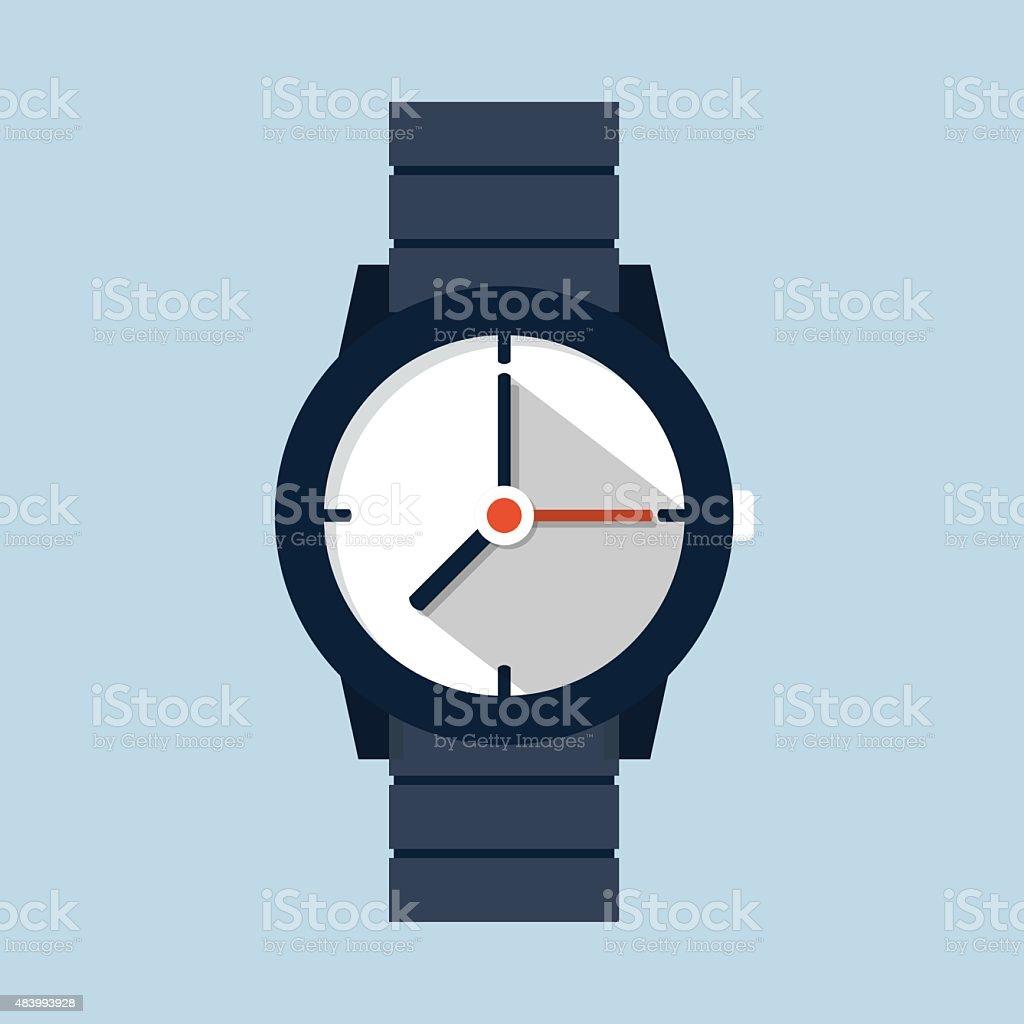 royalty free watch face clip art vector images illustrations istock rh istockphoto com vector watch update vector watch update