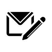 istock Write message icon 1339978691