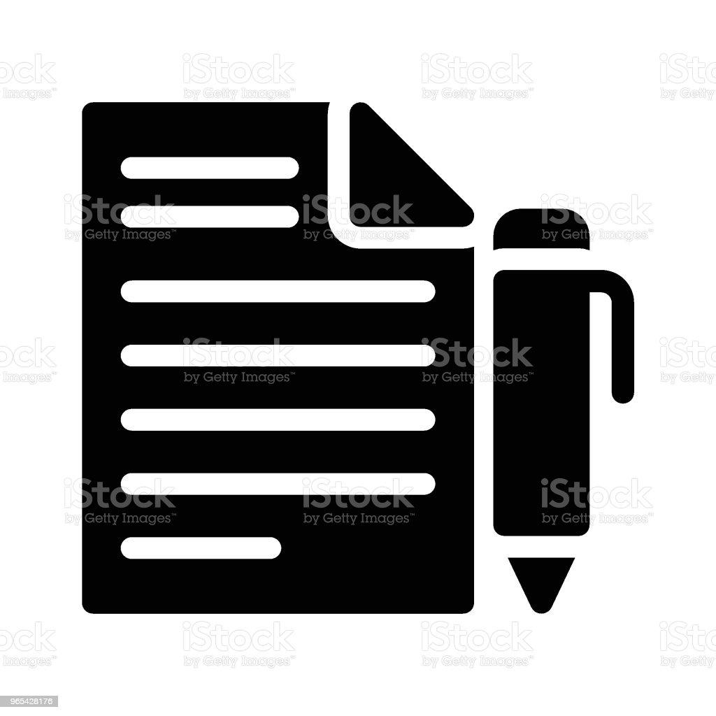 寫 - 免版稅人圖庫向量圖形