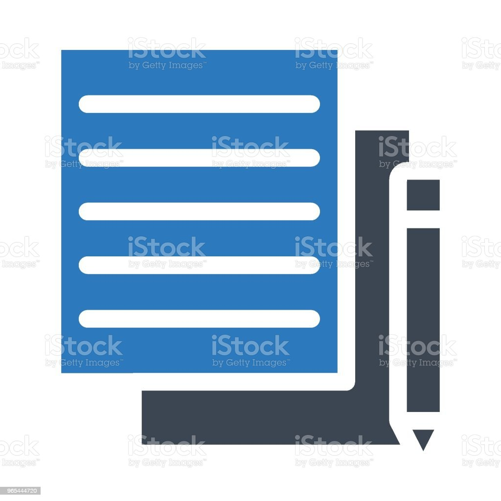 write royalty-free write stock vector art & more images of abstract