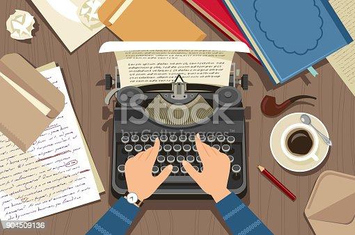 istock Writer at work 904509136