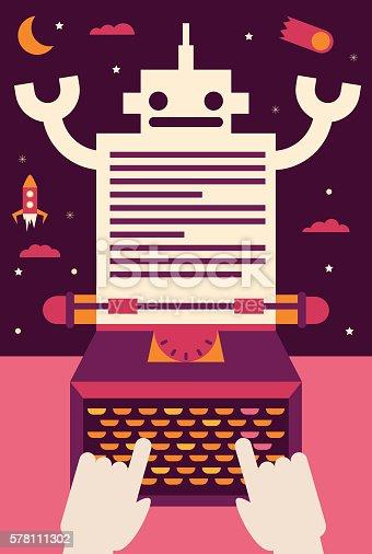 istock Writing Sci Fi 578111302