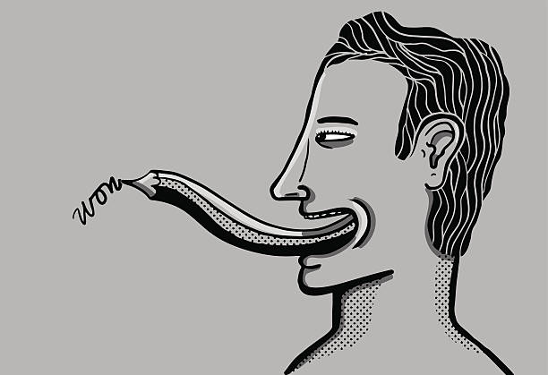 Best Sticking Out Tongue Illustrations, Royalty-Free ...