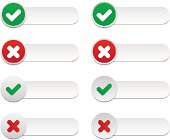 Wrong and right validation labels