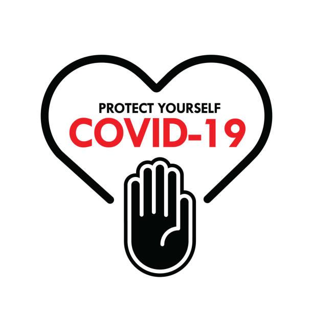 武漢冠狀病毒爆發流感為危險流感應變病例為大流行概念橫幅平式插圖,科維德-19股票插圖 - 疫病預防 幅插畫檔、美工圖案、卡通及圖標