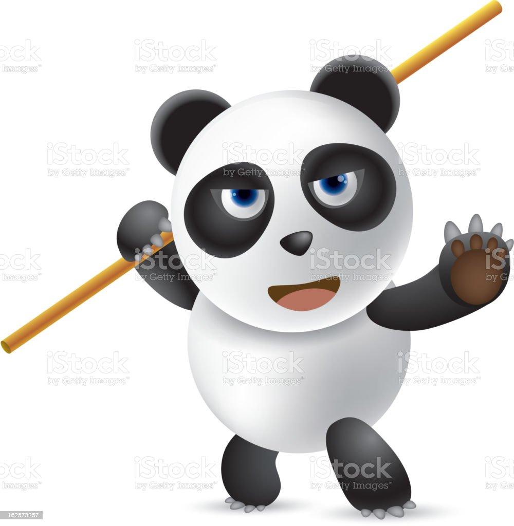 Wushu royalty-free stock vector art