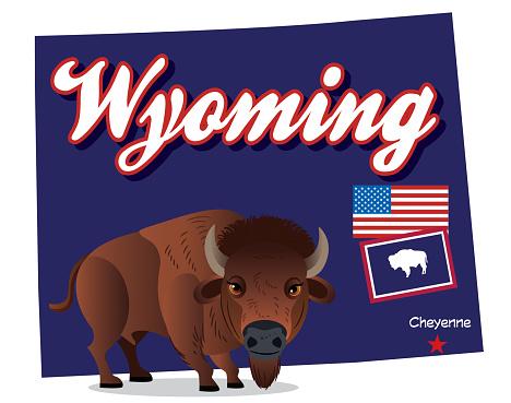 Wyoming Bison