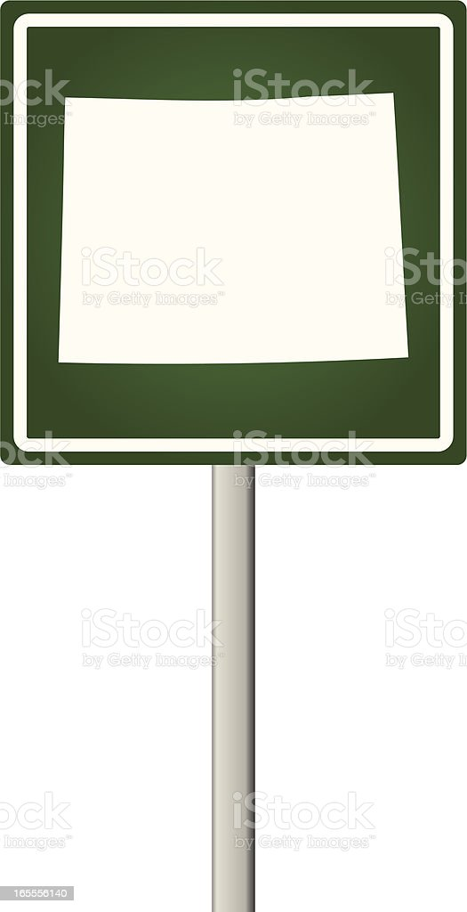 Wyoming Sign royalty-free wyoming sign stock vector art & more images of illustration