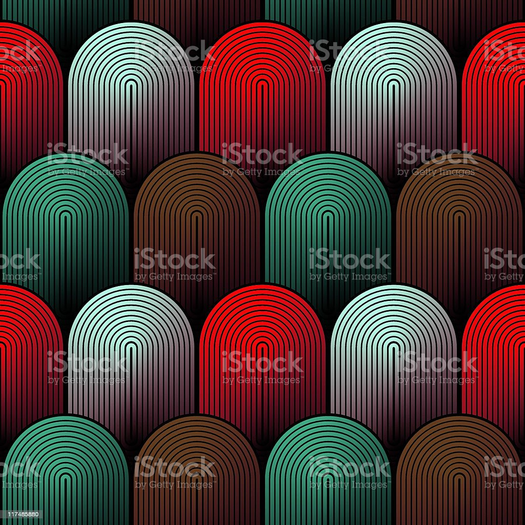 Xela (Seamless) royalty-free stock vector art