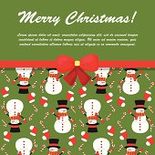 X-mas and New Year background. Seamless pattern for holiday design.