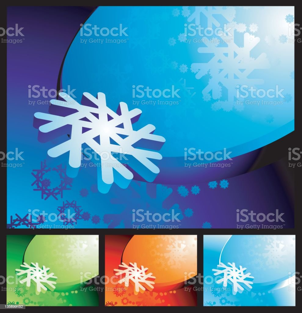 xmas backdrop royalty-free stock vector art