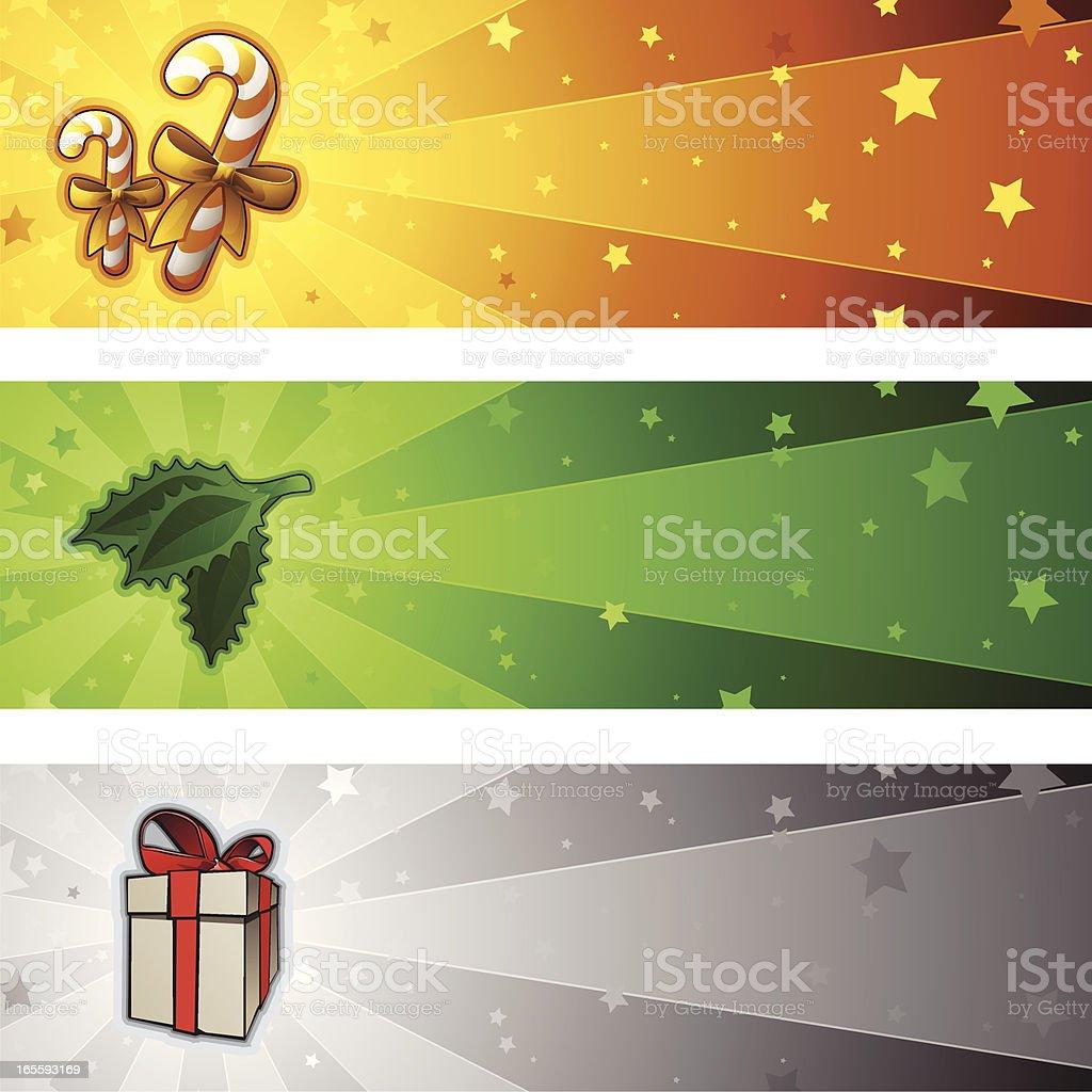 Xmas Banners - 2009 royalty-free stock vector art