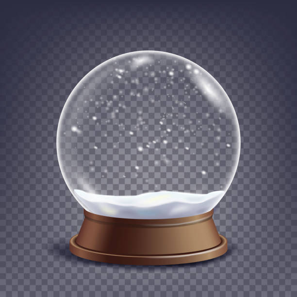 Best Snow Globe Illustrations Royalty Free Vector