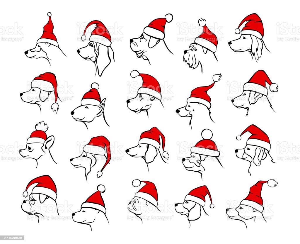 Favorit Noël Joyeux Nouvel An 2018 Décrites Silhouettes Des Différents  HZ93