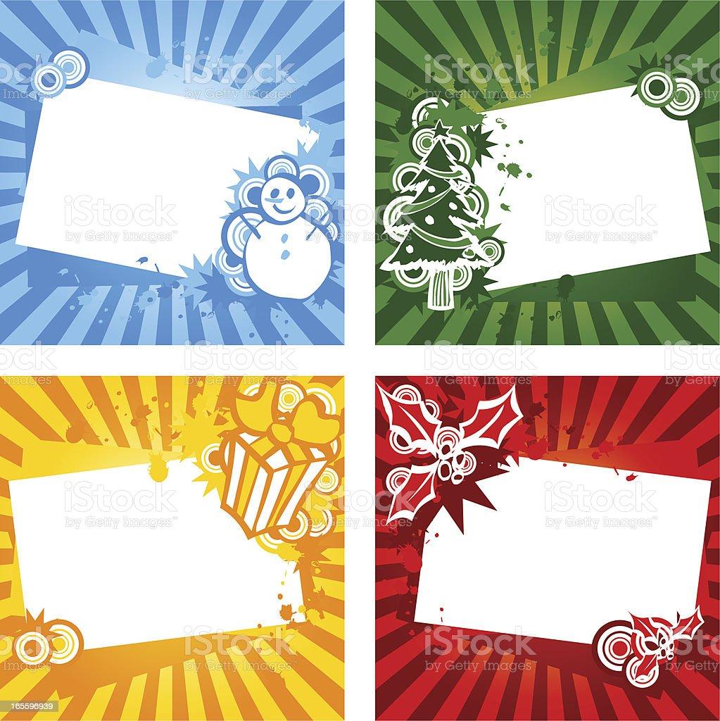 Natal mensagem ilustração de natal mensagem e mais banco de imagens de amarelo royalty-free