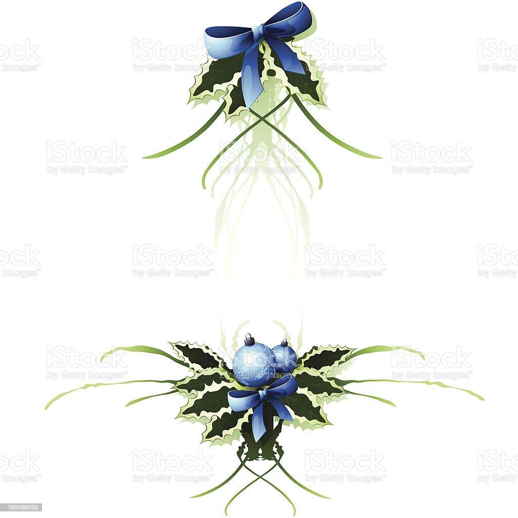 Xmas Scroll / Design Element royalty-free xmas scroll design element stock vector art & more images of blue