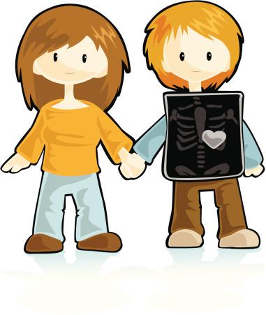X-ray: Loving couple