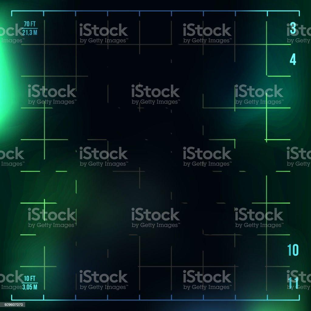X-Ray Medical Background Vector. Radiology Neon Scan Effect. Futuristic Medical Light. Illustration vector art illustration