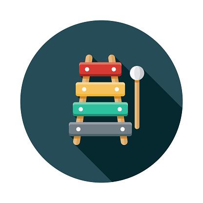 Xylophone Children's Toy Icon