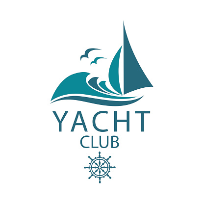 yacht and sea icon