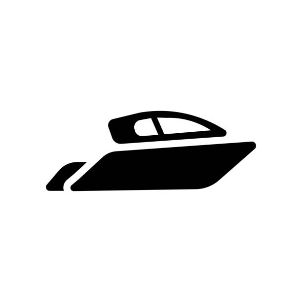 Yacht icon. Trendy Yacht logo concept on white background from Transportation collection vector art illustration