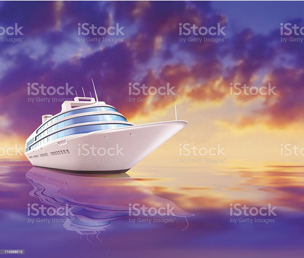 Yacht royalty-free yacht stock vector art & more images of aquatic sport