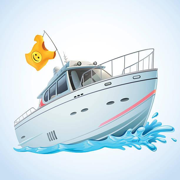 ilustrações de stock, clip art, desenhos animados e ícones de iate - enjoying wealthy life