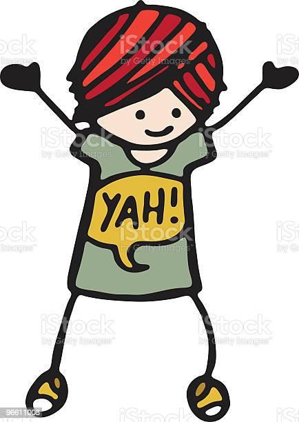 Yah Girl-vektorgrafik och fler bilder på Barn